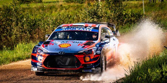 Home hero Tänak supreme on home roads in WRC return