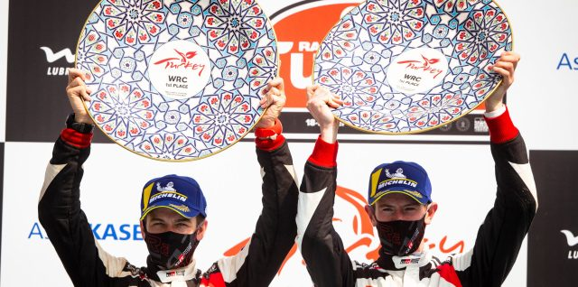 FIA World Rally Championship / Rally Turkey / Evans wins to regain title lead