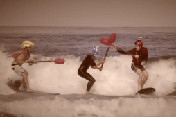 Sport of Surf Joust Debuts in Southern California
