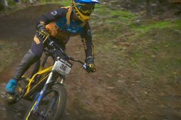 Downhill Mountain Bike Racing at Killington, Vermont
