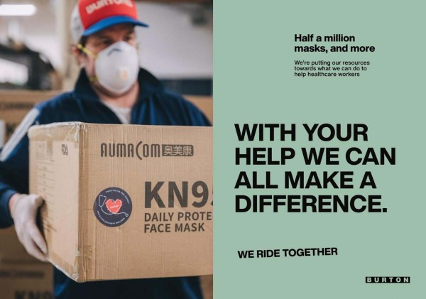 N95 Respirator Masks - Burton