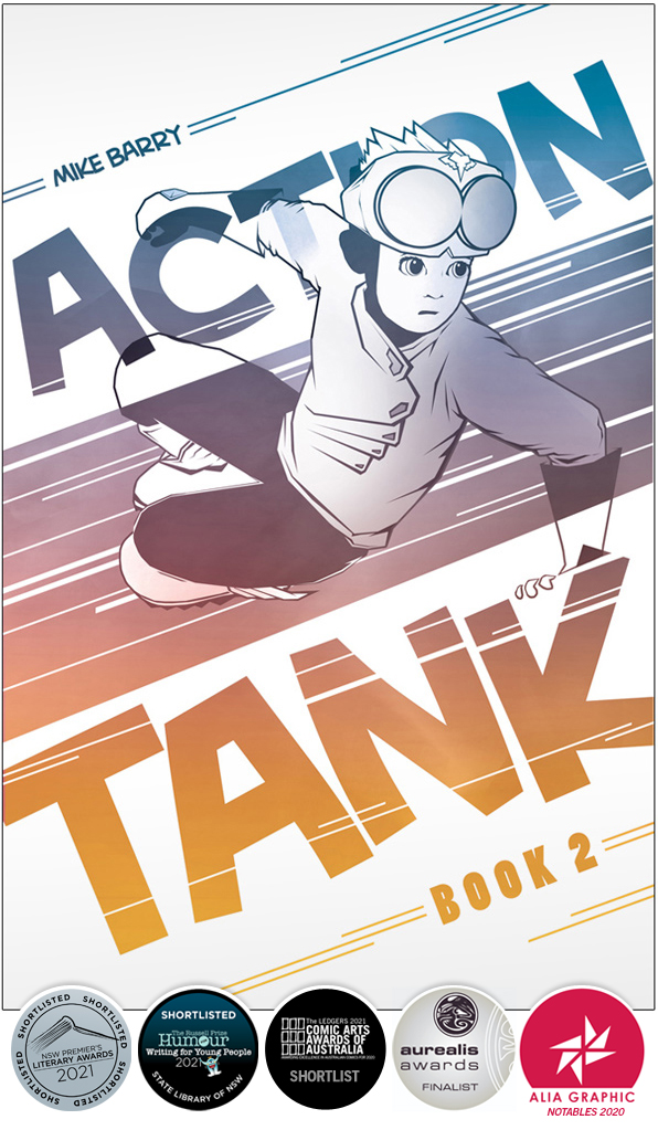 Action Tank Book 2 - with all the awards