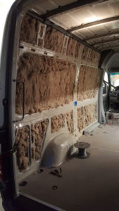 Action Van of Bend Oregon | Wool Insulation in a Sprinter Van