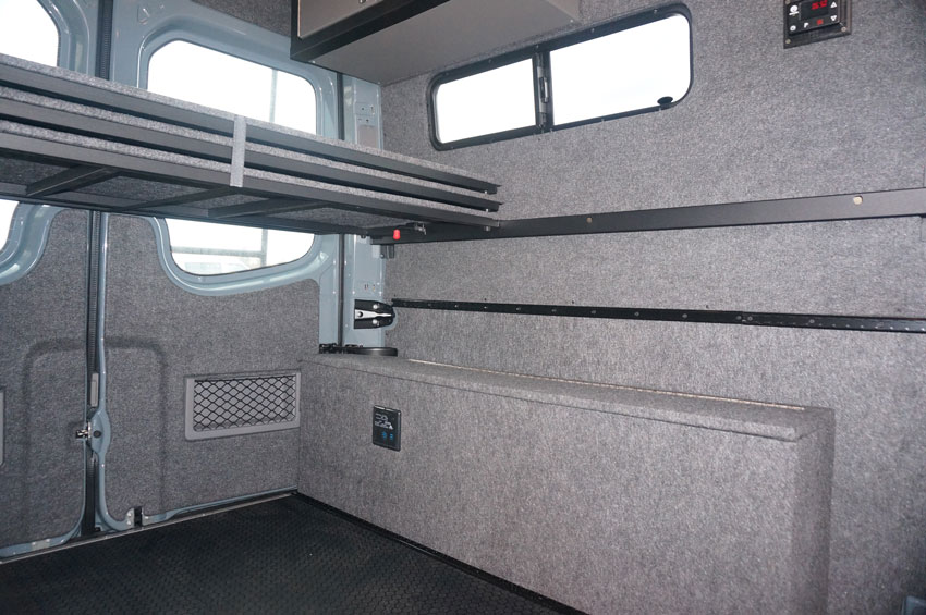 Easy-Sto® Bed System – A Better Three-Panel Bed for Sprinter and Promaster