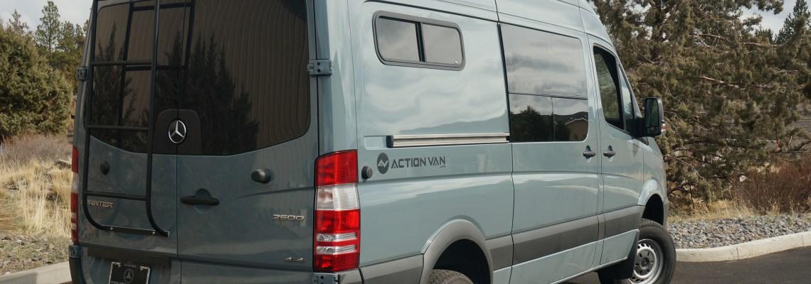 Action Van, Weekender+ Mercedes-Benz Sprinter, 144 Wheel base, 4×4