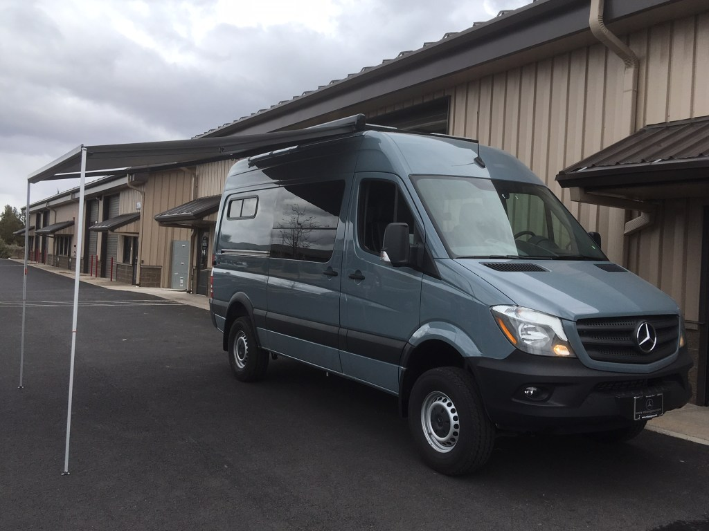 For Sale 2018 Graphite Grey Sprinter Van 144 4×4 | Stock #: AV-006 – SOLD