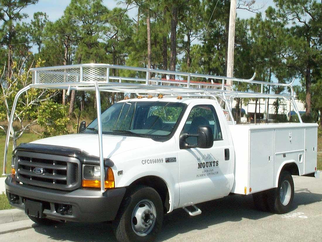 custom truck racks and van racks by