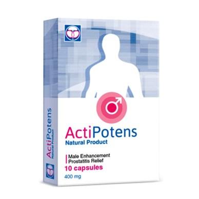 ActiPotens Prostatitis Treatment Capsules | Official Site