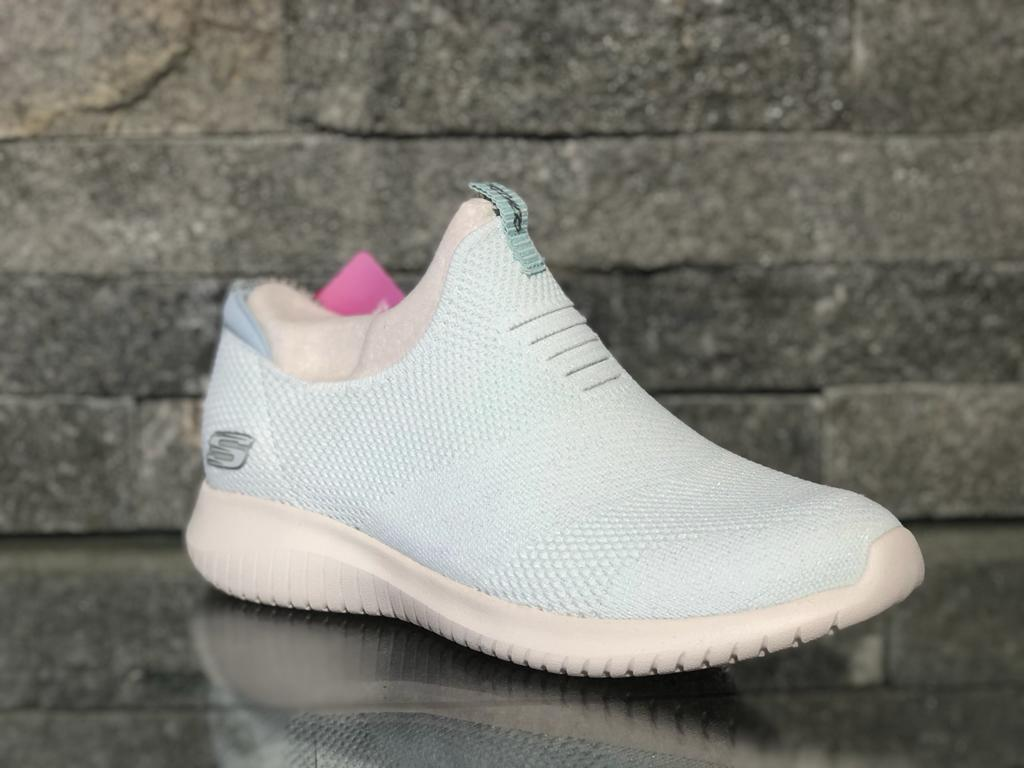 Pantofi Skechers Candy Turcoaz 149047-WHT