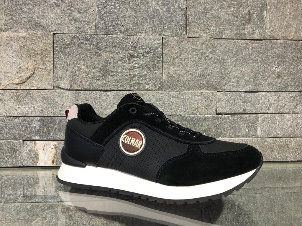 Pantofi Colmar Travis Drill Negru 014