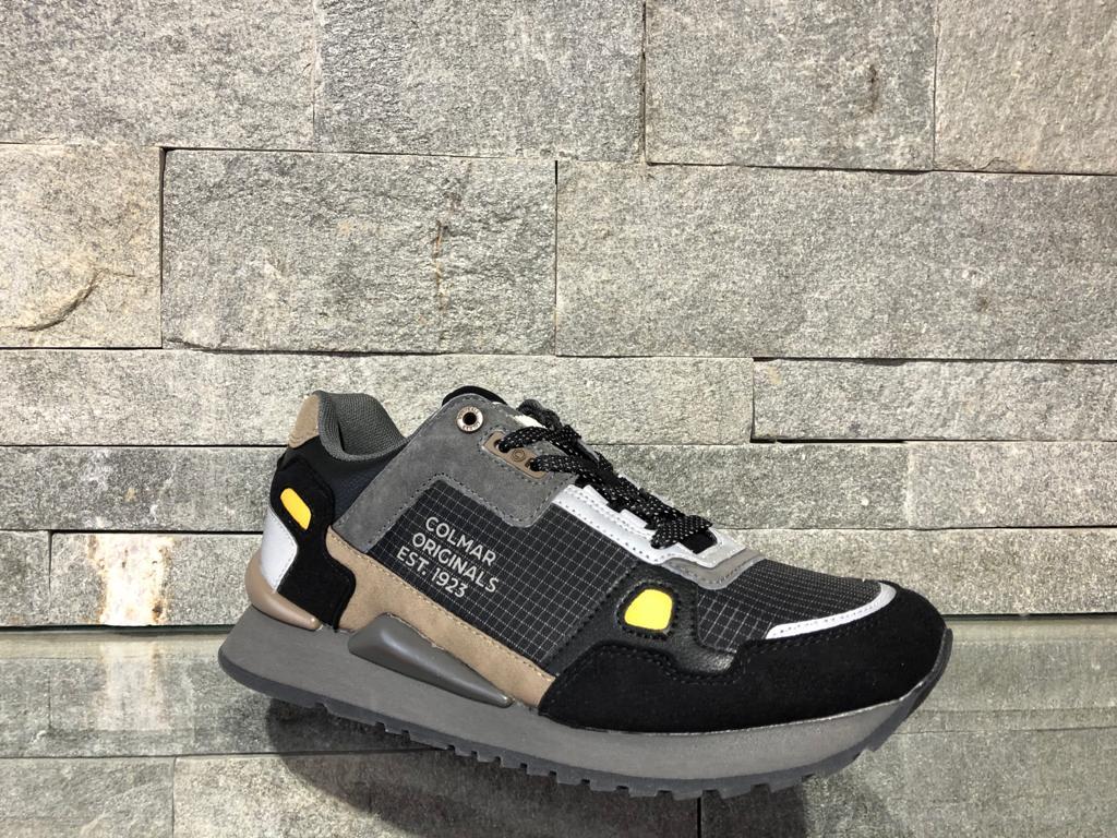 Pantofi Colmar Tyler Gunmetal Multicolor 120