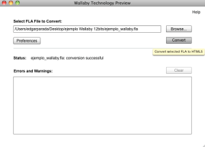 Adobe Wallaby Screenshot
