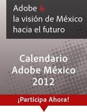 Calendario Adobe México 2012
