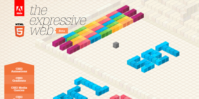 Deconstrucción del sitio HTML5 theexpressiveweb.com