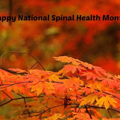 Spinal Health Month