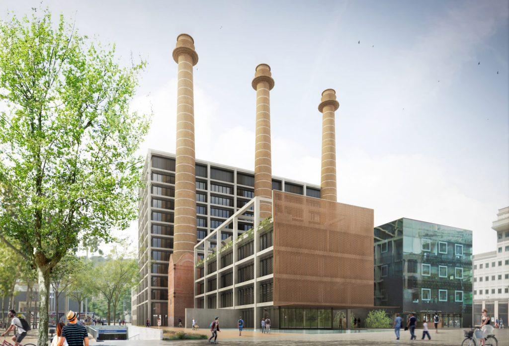 Conren tramway invertir 150 millones en oficinas en barcelona - Oficinas de endesa en barcelona ...