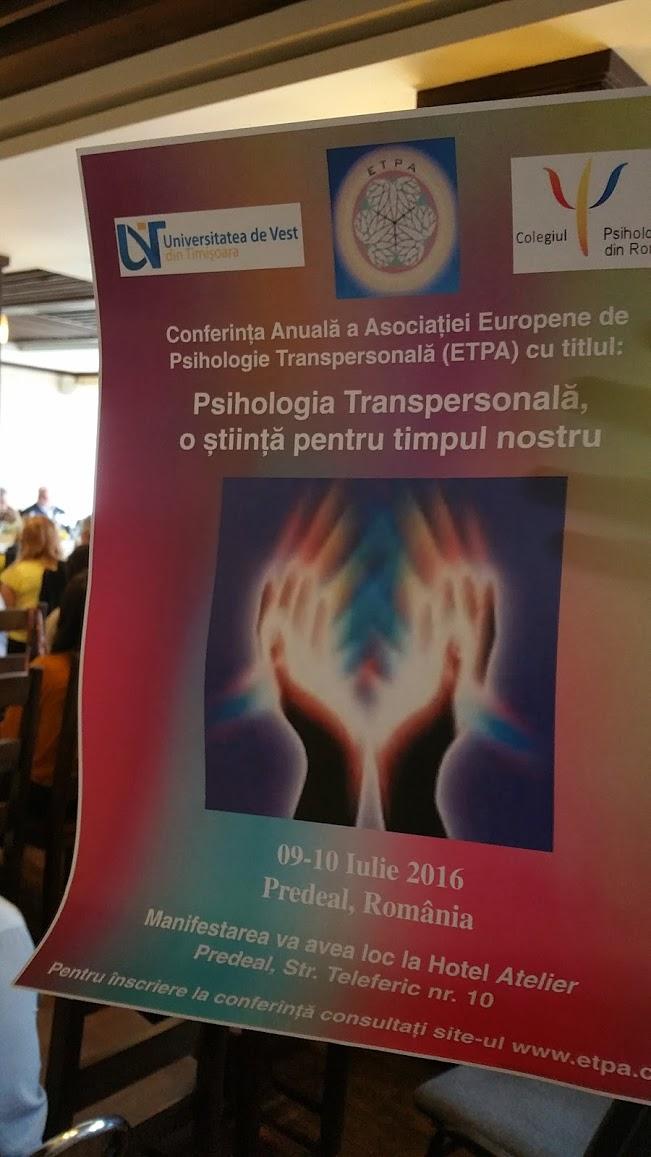 activare adn la conferinta anuala de psihologie transpersonala