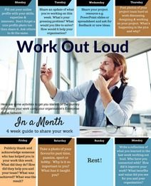 Work Out Loud in a Month Downloadable Resource