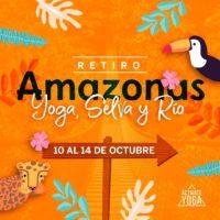 RETIRO YOGA, SELVA Y RÍO, AMAZONAS 2019
