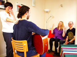 Jennifer's teaching room in south Bristol