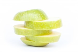A cut up apple - whole body or separate parts?
