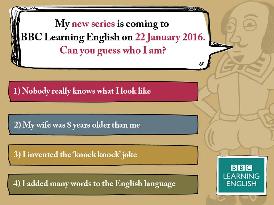 BBC Learning English will start a new series as well!