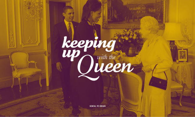 What was Queen Elizabeth II doing at your age?