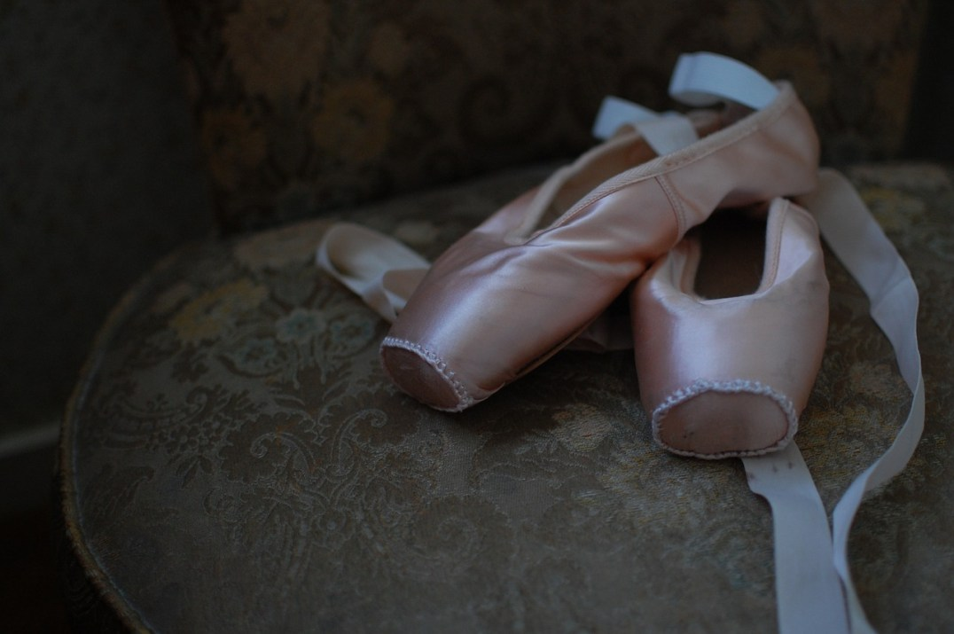 ballet shoes or ballet slippers