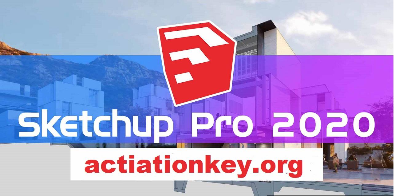 SketchUp Pro 2020 Crack Torrent + License Key (Windows)