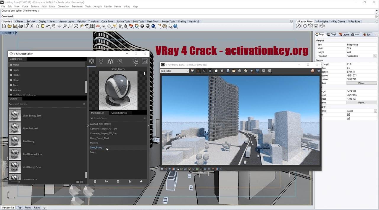 VRay 4 Crack For SketchUp 2020 Full Version + License Key
