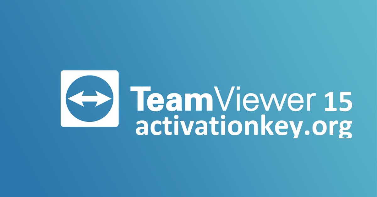 TeamViewer 15 Crack + License Key Full Version 2020