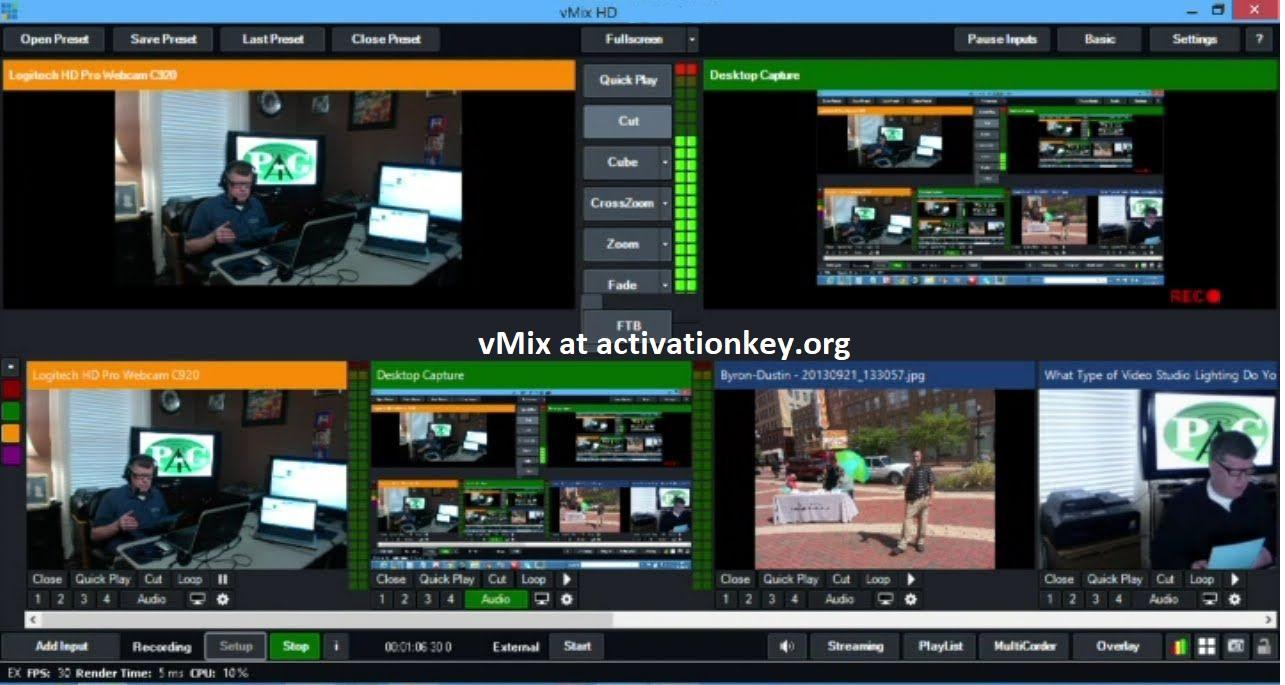 vMix 23.0.0.38 Crack With Registration Key [Windows + MAC]