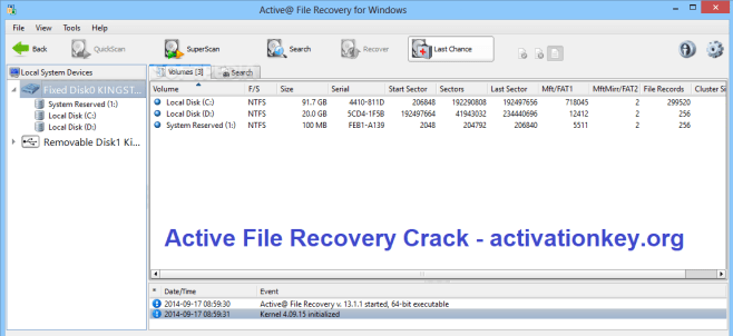 Active File Recovery Crack 19.0.9 + Keygen Full Download