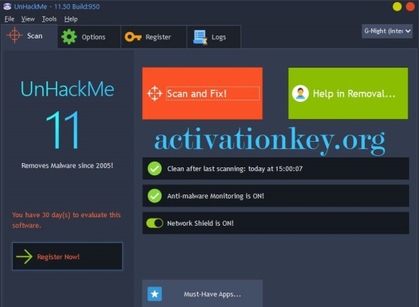 UnHackMe 11.50.0.950 Crack Full + Activation Key (2020)