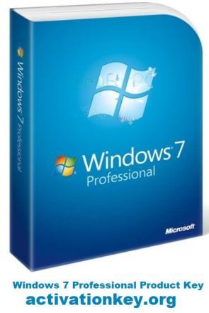 Windows 7 Professional Product Key 32/64- bit Updated