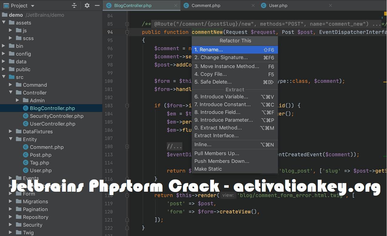 JetBrains PhpStorm 2020.1.1 Crack + License Key Full Download