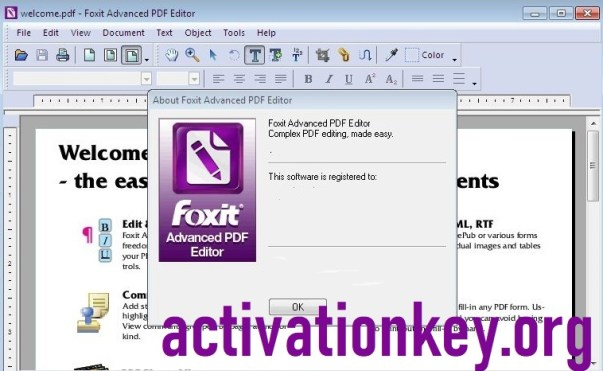 Foxit PDF Editor Crack + Activation KEY + Patch (FULL Version)
