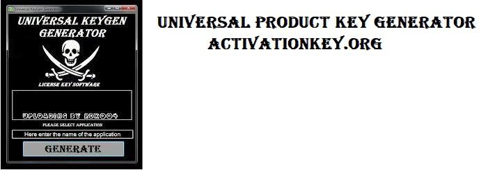 Universal Product Key Generator Full Version 2020