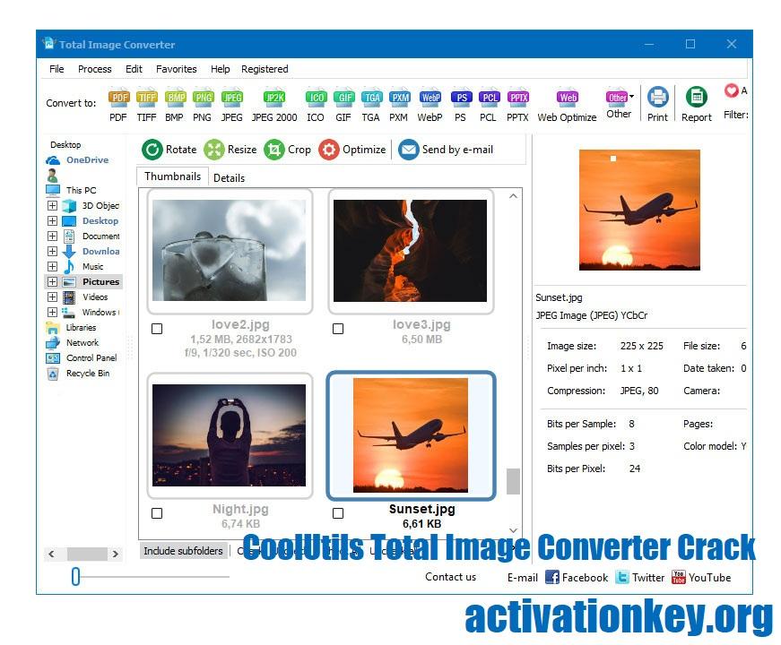 CoolUtils Total Image Converter 8.2.0.222 Crack + Registration Key (Free)
