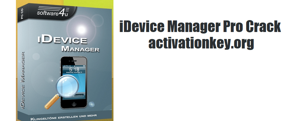 iDevice Manager Pro 10.4.0.0 Crack Registration Key [Latest]