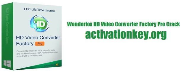 HD Video Converter Factory Pro 19.2 Crack With Serial Key 2020