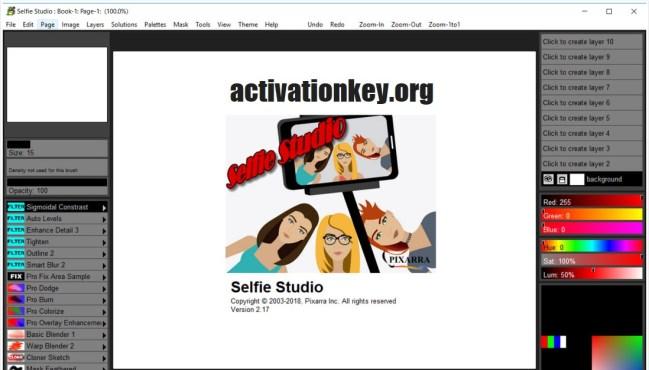 Pixarra Selfie Studio Crack + Portable [Latest Version]