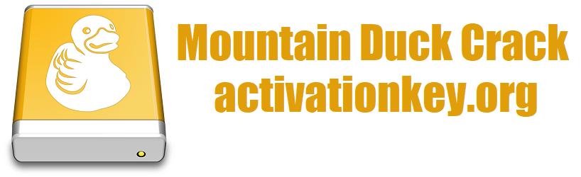 Mountain Duck 4.2.1.17080 Crack Full Version [Latest]
