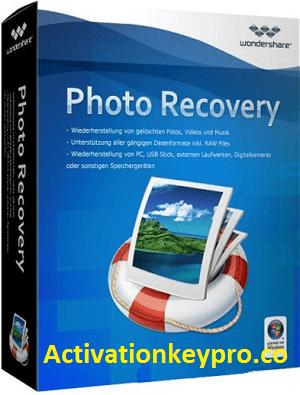 Wondershare Photo Recovery Crack