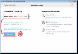 ESET Endpoint Antivirus 6.6.2086.1 serial number