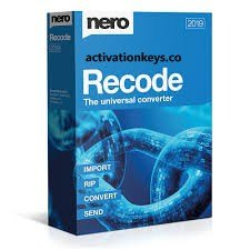Nero Recode 2022 Crack With Serial Key Full Free Download