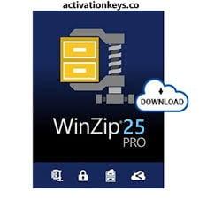WinZip Pro 25 Crack Plus Activation Key Free Download [2021]