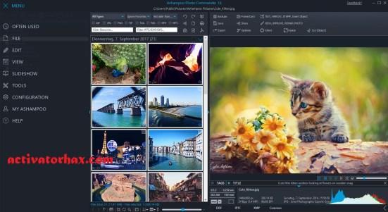 Ashampoo Photo Commander Crack 16.3.1 & License Key Download 2021