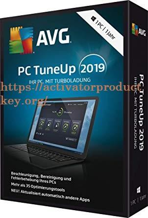 AVG PC TuneUp 2019 Crack & Serial Key Free Version [Latest]
