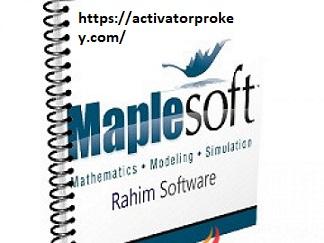 Maplesoft Maple 2020.1 Crack